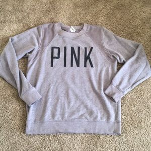 Crew neck PINK pullover